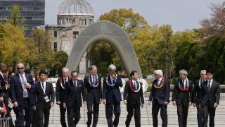 Свят без ядрени оръжия поискаха от Г-7 в Декларацията от Хирошима