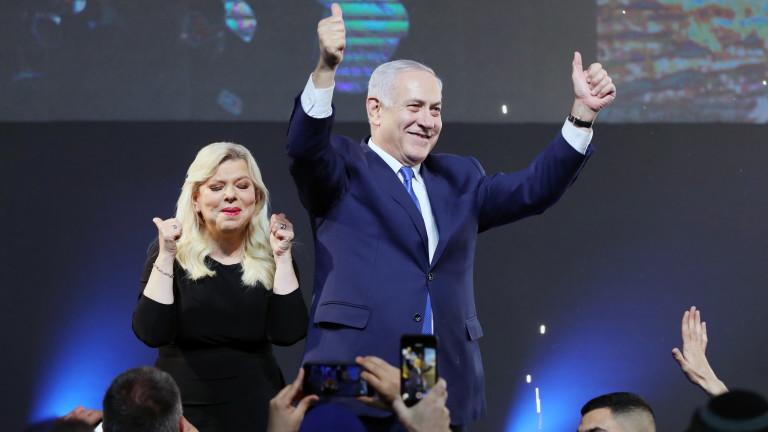 """""""Ликуд""""води на изборите в Израел"""