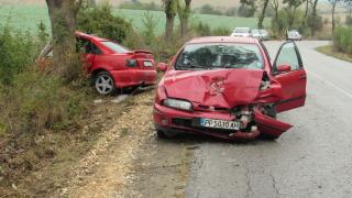 Катастрофа ограничи движението по пътя Русе – Бяла