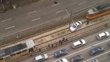 """Катастрофа блокира трамваите в района на МОЛ """"Сердика"""""""