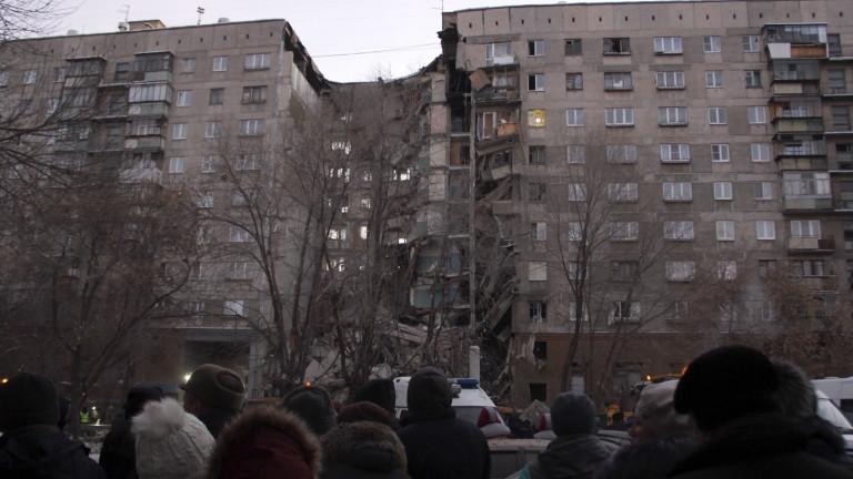 Резултат с изображение за Взривен е 8-етажен жилищен блок в Москва