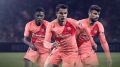 Барселона представи розов екип