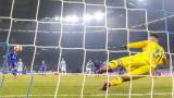 Шалке - Манчестър Сити, втора дузпа за домакините, Бенталеб отново е точен - 2:1