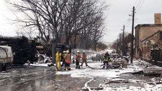 Хитрино - най-страшният инцидент и за пожарникарите на място