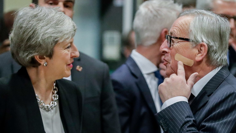 Брекзит е миналото, а не бъдещето. Този коментар направи председателят