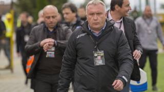 Николай Киров след загубата: Гледаме напред, предстои ни мач за Купата с ЦСКА