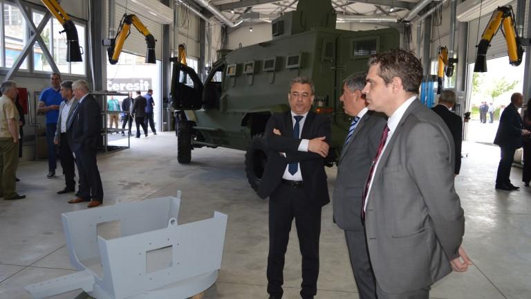 В Самоков ще се произвеждат първите в България бронирани автомобили