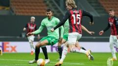 Милан сътвори зрелищен обрат в Лига Европа