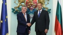 Президентът на МОК Томас Бах: Тръгвам си с прекрасни впечатления от България