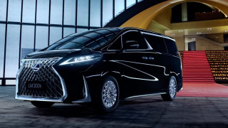 Lexus представи първия си миниван на Автосалона в Шанхай (Видео)