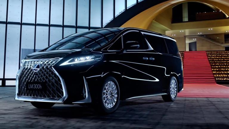 Снимка: Lexus представи първия си миниван на Автосалона в Шанхай