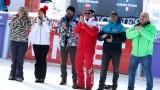 Министър Кралев награди победителя в гигантския слалом от Световната купа по ски в Банско Хенрик Кристоферсен