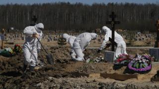 Смъртността в Санкт Петербург е скочила с една трета по време на пандемията