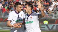 Шоу с 8 гола на Каляри - Фиорентина, Торино се спаси в края срещу Лацио (ВИДЕО)