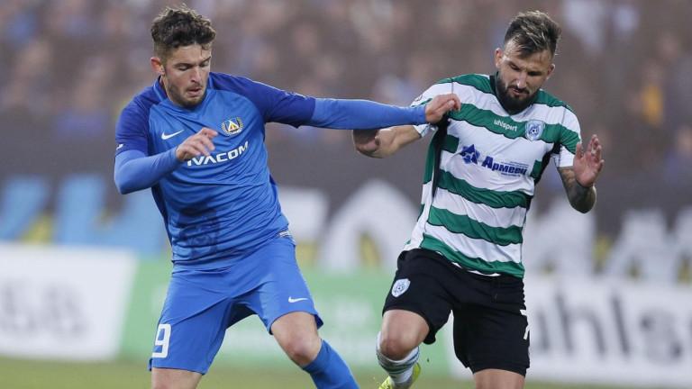 През лятото сърцатият полузащитник Васил Панайотов напусна Левски. Халфът на