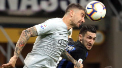 """Дербито на кръга в Серия """"А"""" между Интер и Рома остана без победител"""