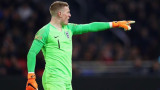 Ясен е титулярният вратар на Англия на Мондиал 2018