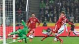 Байерн (Мюнхен) помете Гладбах като гост, изравни се по точки с лидера Борусия (Дортмунд)