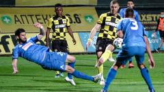 Ботев (Пловдив) - Левски 0:1, гол на Марин Петков