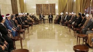 Асад обединява религиозно разделена Сирия