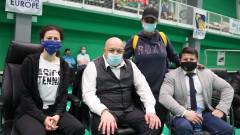 Министър Кралев проследи срещите от Държавното първенство по бадминтон