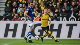 Шалке вкара 4 гола на Борусия като гост и мечтае за силен следващ сезон в елита на Германия