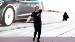 Гравитацията застигна Tesla: акциите се сринаха със 17%