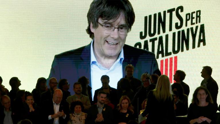 Испания спря Пучдемон за евровота