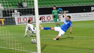 Черно море - Лудогорец 1:0, гол на Генев