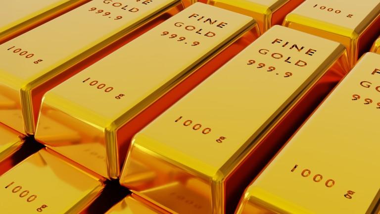 Търговците на злато прибират печалбата от тридневното поскъпване