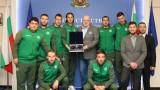 Министър Кралев награди световните вицешампиони по футбол 5