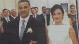 Дъщерята на още един футболист от Лято' 94 се омъжи