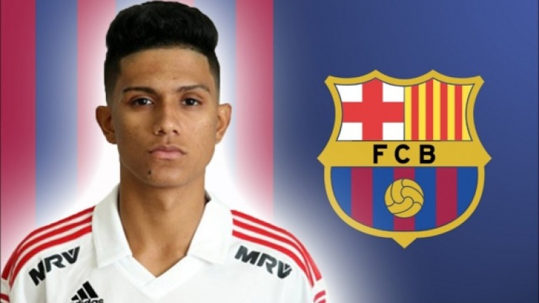 Густаво Мая вече е футболист на Барселона, обявиха от
