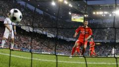 Европейският шампион аут