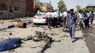 37 души загинаха при взрив в оживено багдадско кафене
