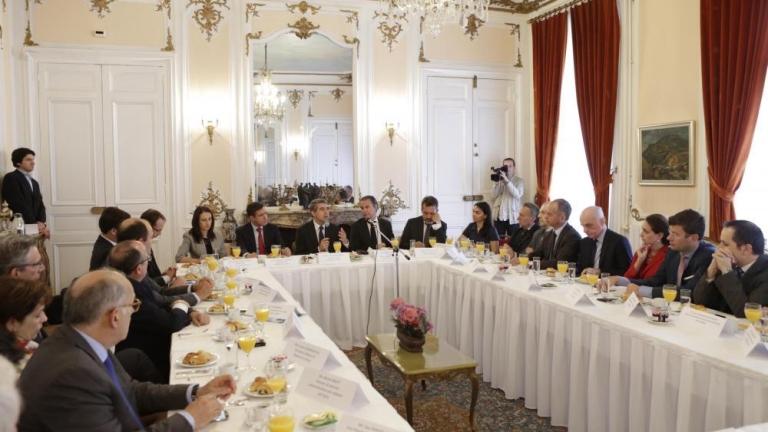 В Париж Плевнелиев убеждава френски бизнесмени да инвестират у нас