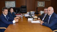 Прокуратурата и Асоциацията на банките обсъдиха механизъм за спешни сигнали