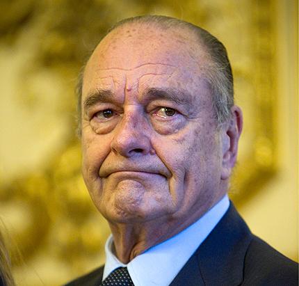 2 г. условно за Жак Ширак