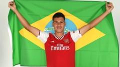 Арсенал представи първи нов - бразилец на 18 години