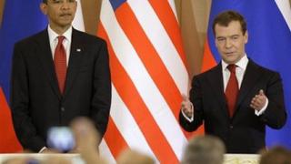 Обама и Медведев доволни един от друг