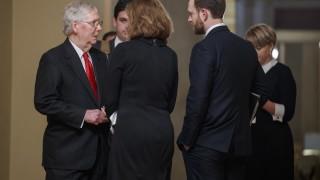 Импийчмънтът на Тръмп: Сенатът прие правила след бурни дебати посред нощ