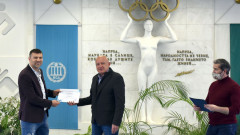 НСА връчи на Тервел Пулев сертификат за доброволчество