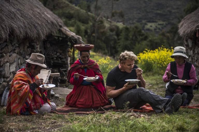 """Кадър от епизода """"Свещената долина на Перу"""""""