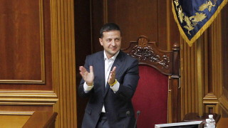70% от украинците доволни от работата на Зеленски