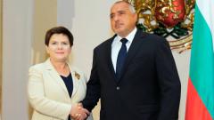 Полша не подкрепя падането на санкциите срещу Русия, заяви Беата Шилдо в София