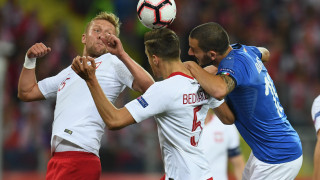 """Гол в добавеното време счупи каръка за Италия! """"Скуадра адзура"""" нокаутира Полша като гост!"""