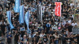 Китай предупреди, че протестиращите в Хонконг трябва да спазват закона
