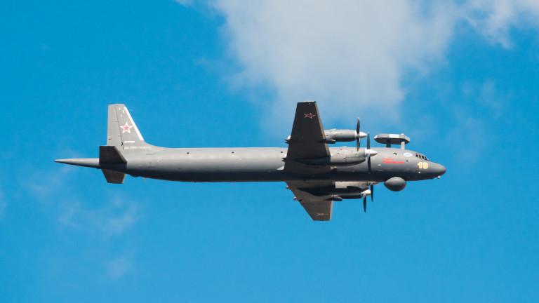 Два руски военни самолета за борба с подводници Ил-38, влязоха