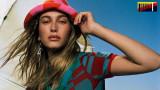 Хейли Бийбър, новите снимки по бански и как моделът посреща лятото