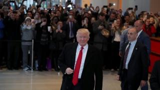 Тръмп влиза в Белия дом с доста по-лош рейтинг от Обама, Буш и Клинтън